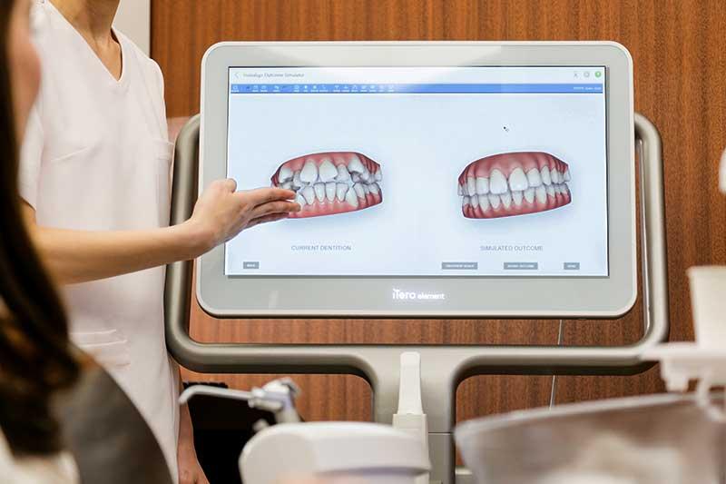 Orthodontic dentist in Osaka